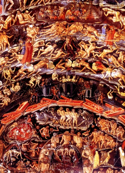 an introduction to the nine circles of hell An analysis of dantes inferno english literature essay print the nine circles of hell described in these nine circles are based off of the idea.